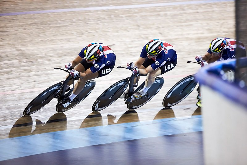 IBMVoice: The internet of things technology in the velodrome: Team USA cycling  @IBM