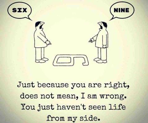 Znalezione obrazy dla zapytania six nine point of view