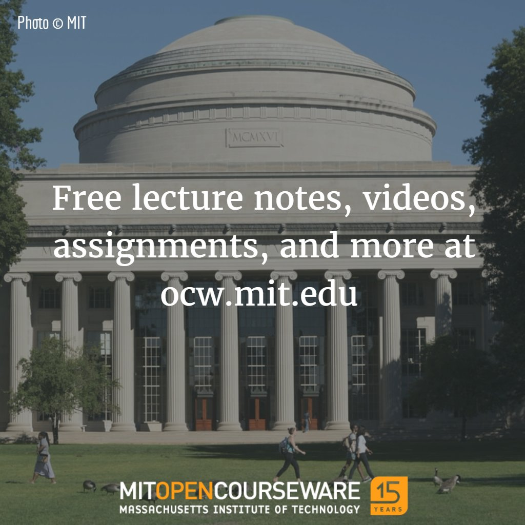 Tell a friend about MIT OpenCourseWare