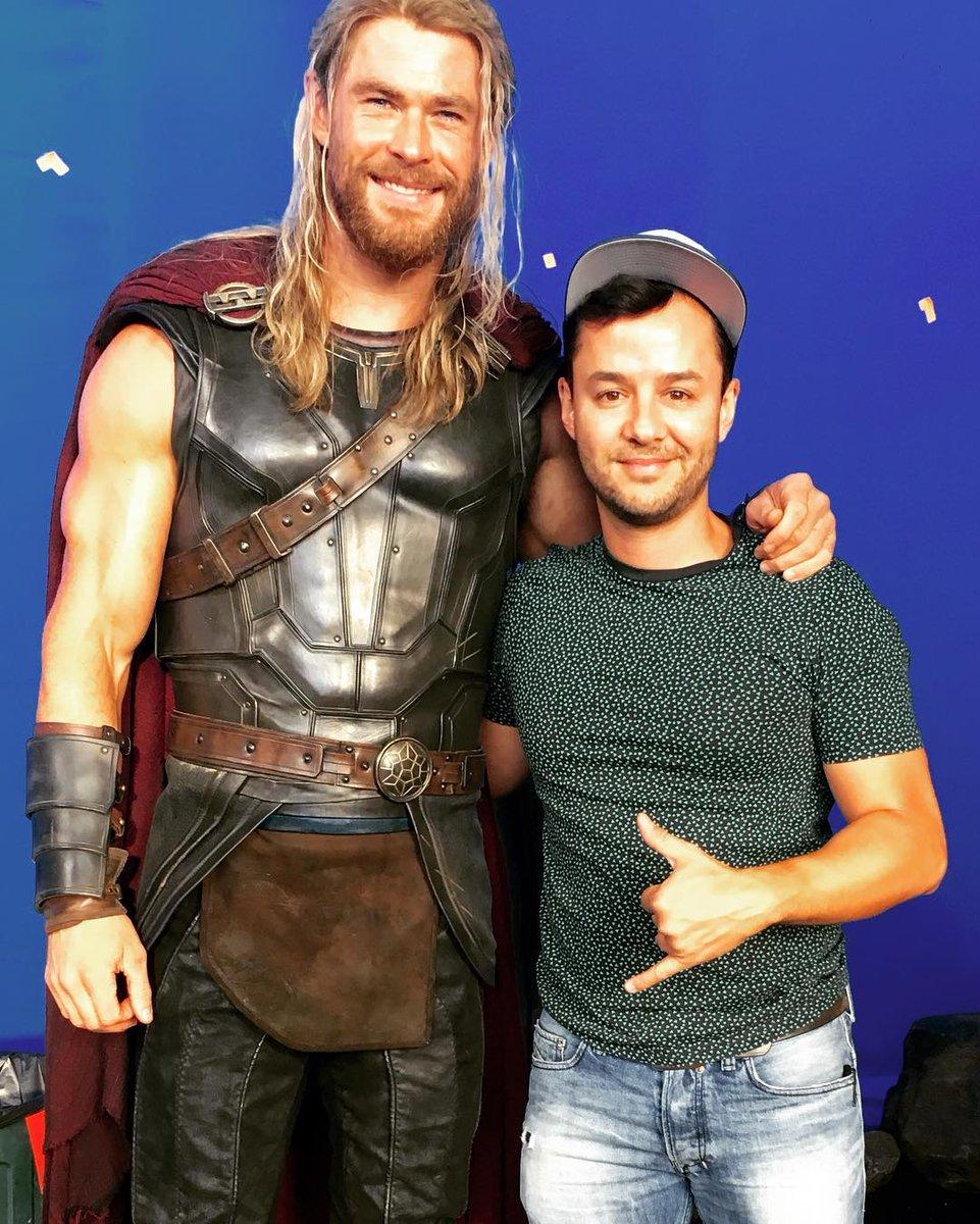 Thor: Ragnarok Set Photos 2