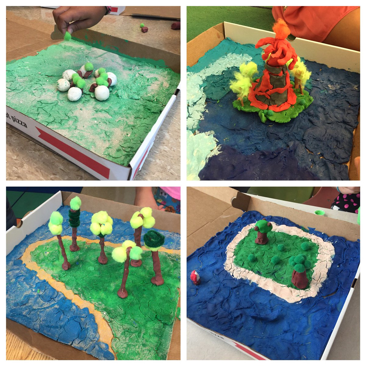 Linsey Smith On Twitter 4th Grade Landform Projects