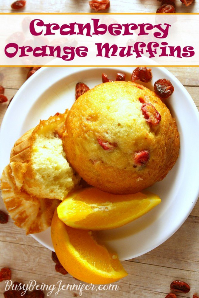 It is IMPOSSIBLE to go wrong with these Cranberry Orange Muffins!!! >>>
