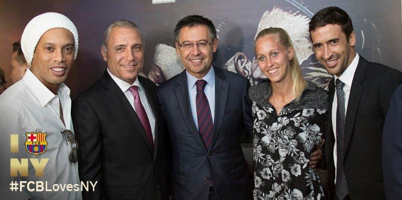 Fútbol femenino y fútbol sala, apuestas del FC Barcelona en EEUU.