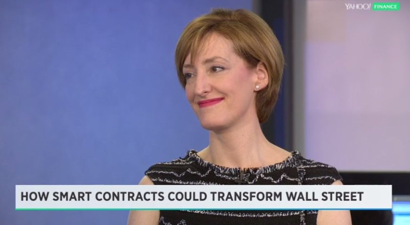 LIVE: Blockchain comes to Wall Street. @CaitlinLong_ explains Blockchain