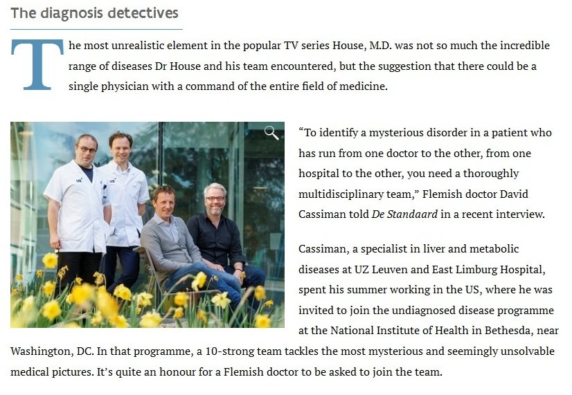 They're The Real Dr Houses. & They Have Sequencers :)  #SNRTG #BigData #RareDisease #genomics