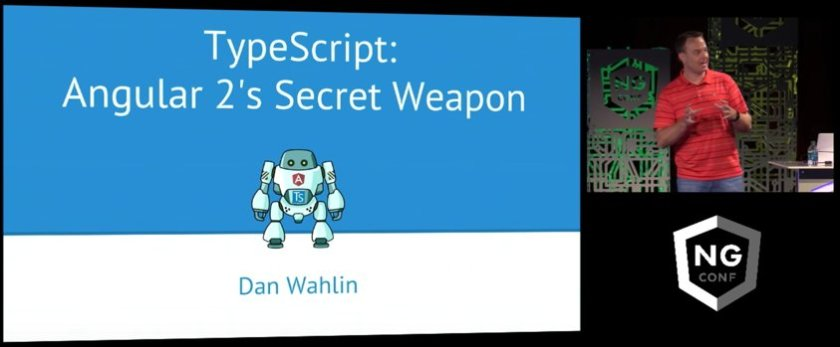 TypeScript is Angular 2's secret weapon, at least acc. to @DanWahlin. Find out why: