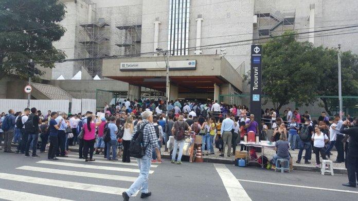 Estação Tucuruvi da Linha 1-Azul. (Foto: Band News FM)