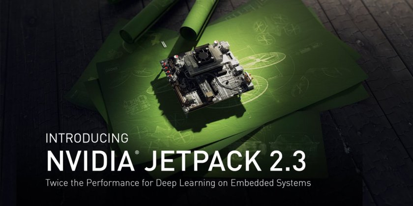 Introducing NVIDIA JetPack 2.3 for #deeplearning on embedded systems:  #JetsonTX1