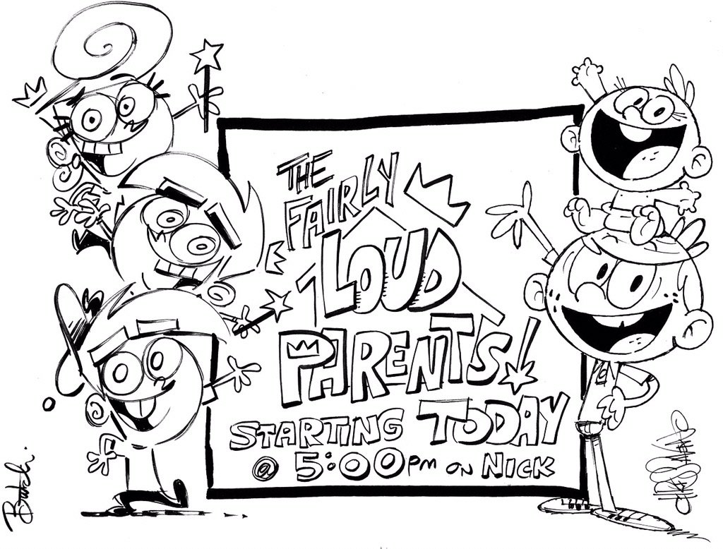 Butch Hartman On Twitter It S The Fairly Loud Parents