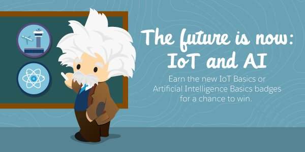 Earn the AI Basics or IoT Basics badge before 10/10 at 11:59pm PST for a chance to win...