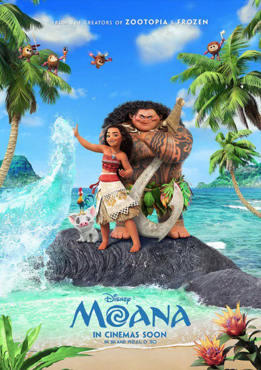 Moana International Trailer Featuring Auli'i Cravalho & Dwayne Johnson 2