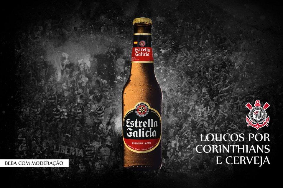 Resultado de imagem para corinthians estrella galicia