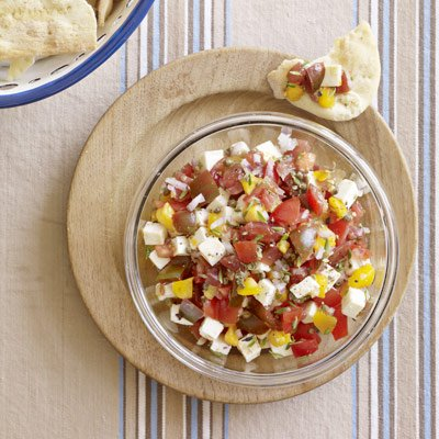 Chunky Tomato Salsa - looks so fresh and tasty!