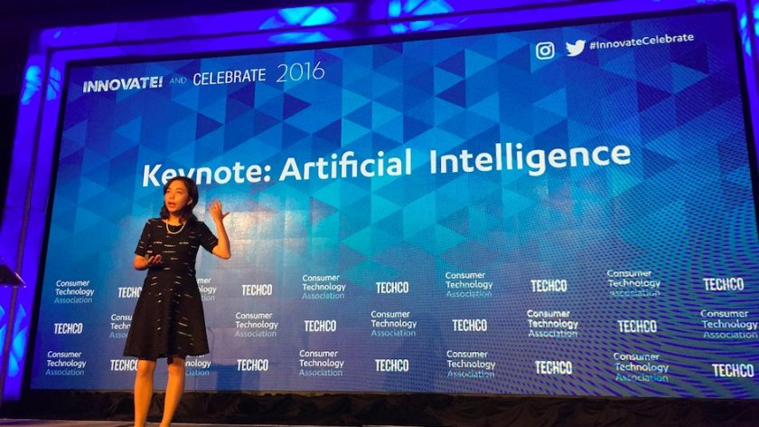 Fei Fei Li Looks to Solve the Problem of Artificial Intelligence  #ai