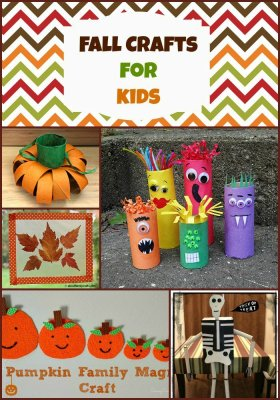15 Fall Crafts for Kids fall crafts
