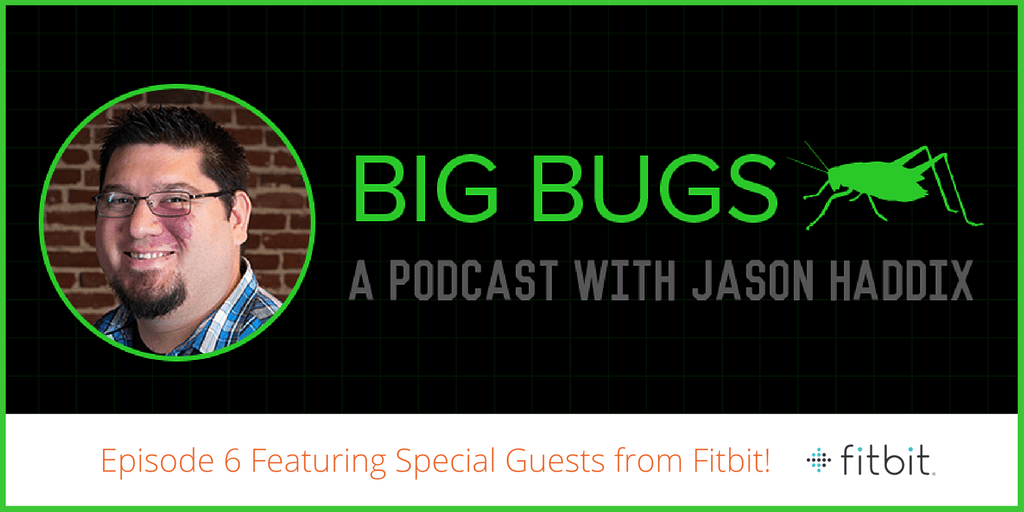 Learn about API hacking & IoT in our new Big Bugs w/ @jhaddix & special guests from @fitbit!