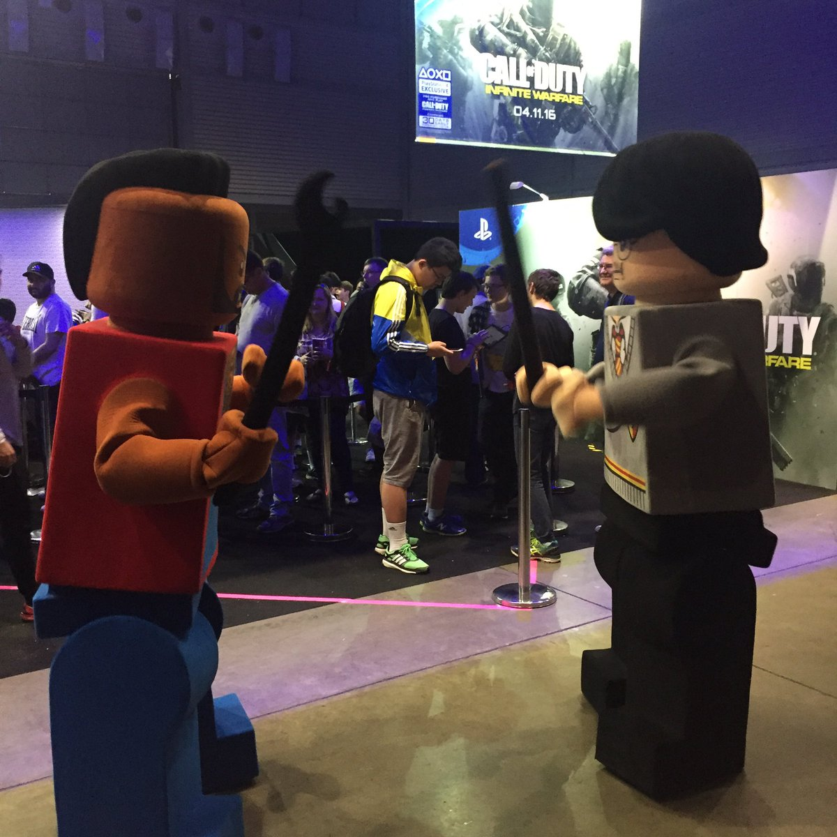 EB Games Australia on Twitter   We ve got ourselves a classic  Lego     EB Games Australia on Twitter   We ve got ourselves a classic  Lego Mr  T  vs Lego Harry Potter situation here at  EBExpo