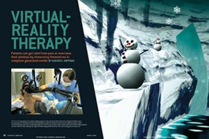 Doctors using #VR for #pain management #PTSD Tx  #VirtualReality via @USC_ICT #MedicalVR