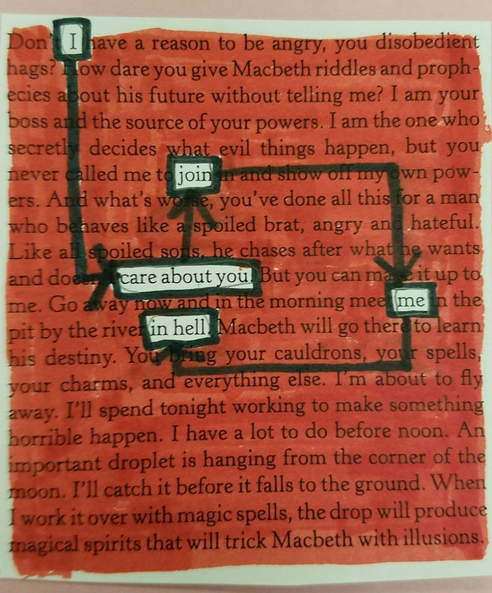 Image result for blackout poetry