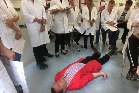 Decorticate vs Decerebrate Posturing posturing Easy read Catherine on Twitter   G demonstrating to Prehospital students in anatomy    decorticate and decerebrate posturing    PHMBSc  The PCP  gareth grier
