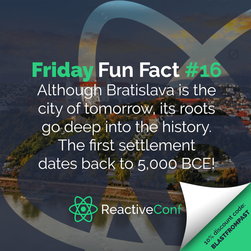 Make your Friday awesome with a #ReactiveConf discount:  #ReactJS