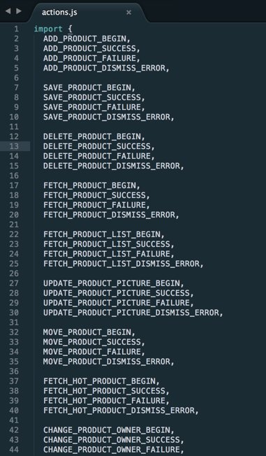 A new approach to managing Redux actions:  #ReactJS