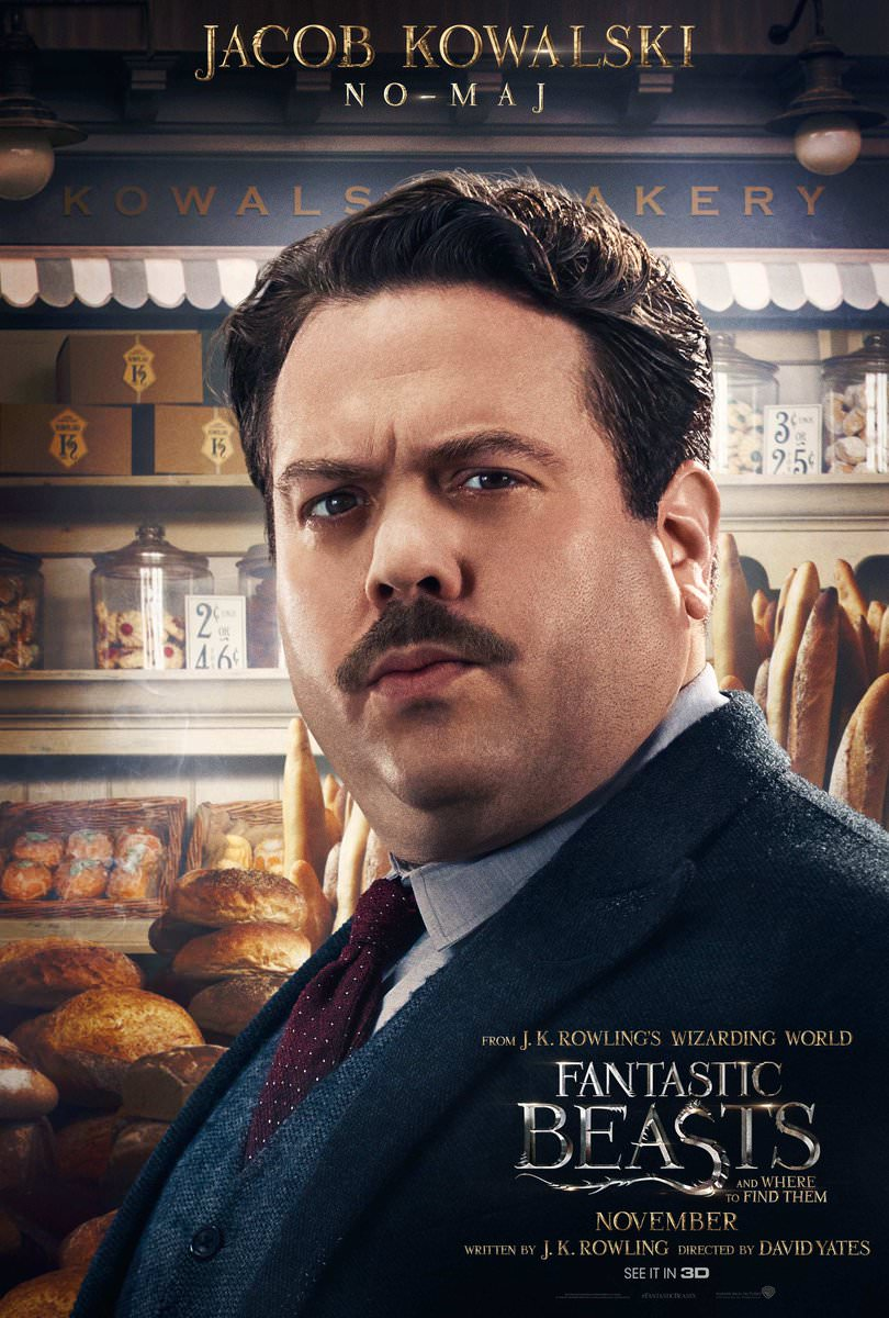 Fantastic Beasts and Where to Find Them Character Posters Revealed 4