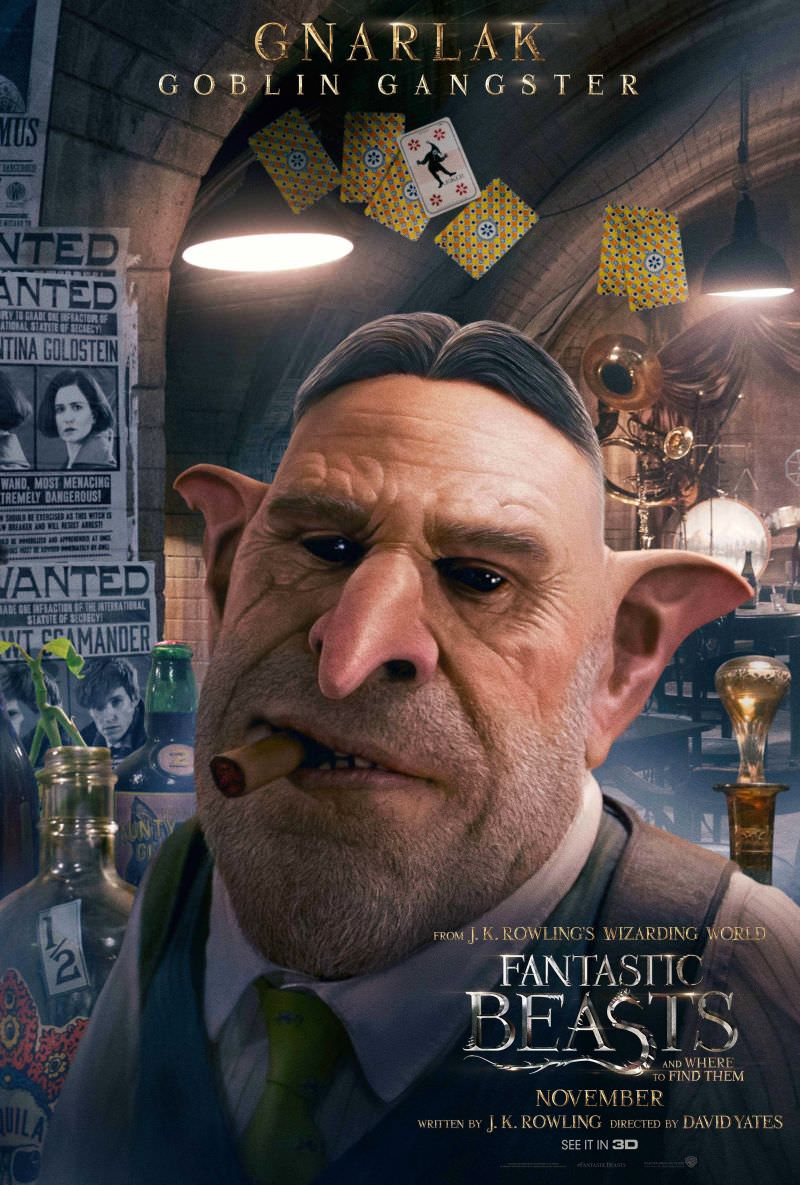 Fantastic Beasts and Where to Find Them Character Posters Revealed 9