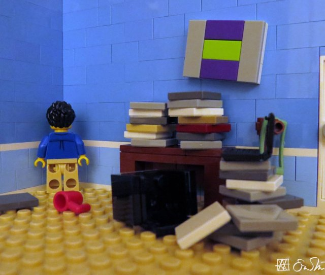 Lego Grad Student On Twitter Trying To Grade Sixty Papers Read 800 Pages Write Four Proposals And Reply To 50 E Mails In Three Days The Grad Student