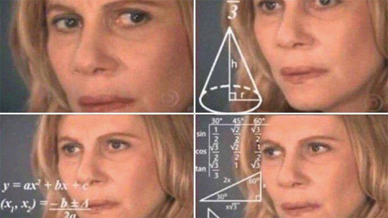 Math Woman Meme