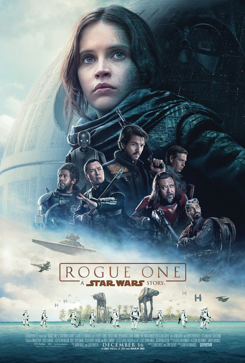 New Rogue One: A Star Wars Story Poster Revealed 1