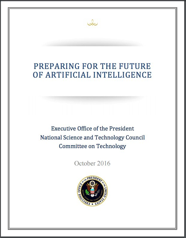 White House Releases Report on the Future of Artificial Intelligence