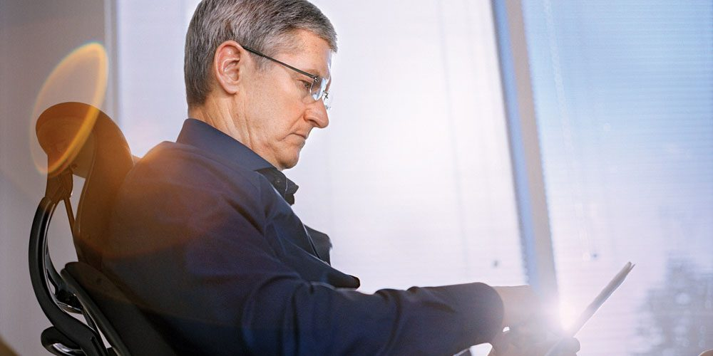 Tim Cook again praises augmented reality, says there's 'no substitute for human contact'