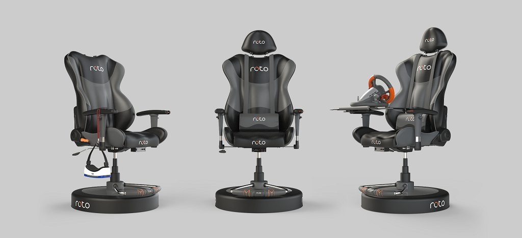 The Roto #VR Chair is set to begin shipping in the first quarter of 2017: