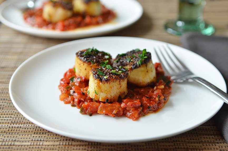 Who doesn\'t love grilled scallops?