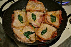 Italian Restaurant Food at home - Saltimbocca Alla Romana
