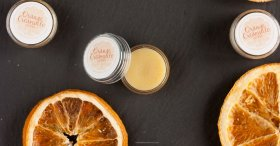Easy DIY Orange Creamsicle Lip Balm DIY essentialoils crafts