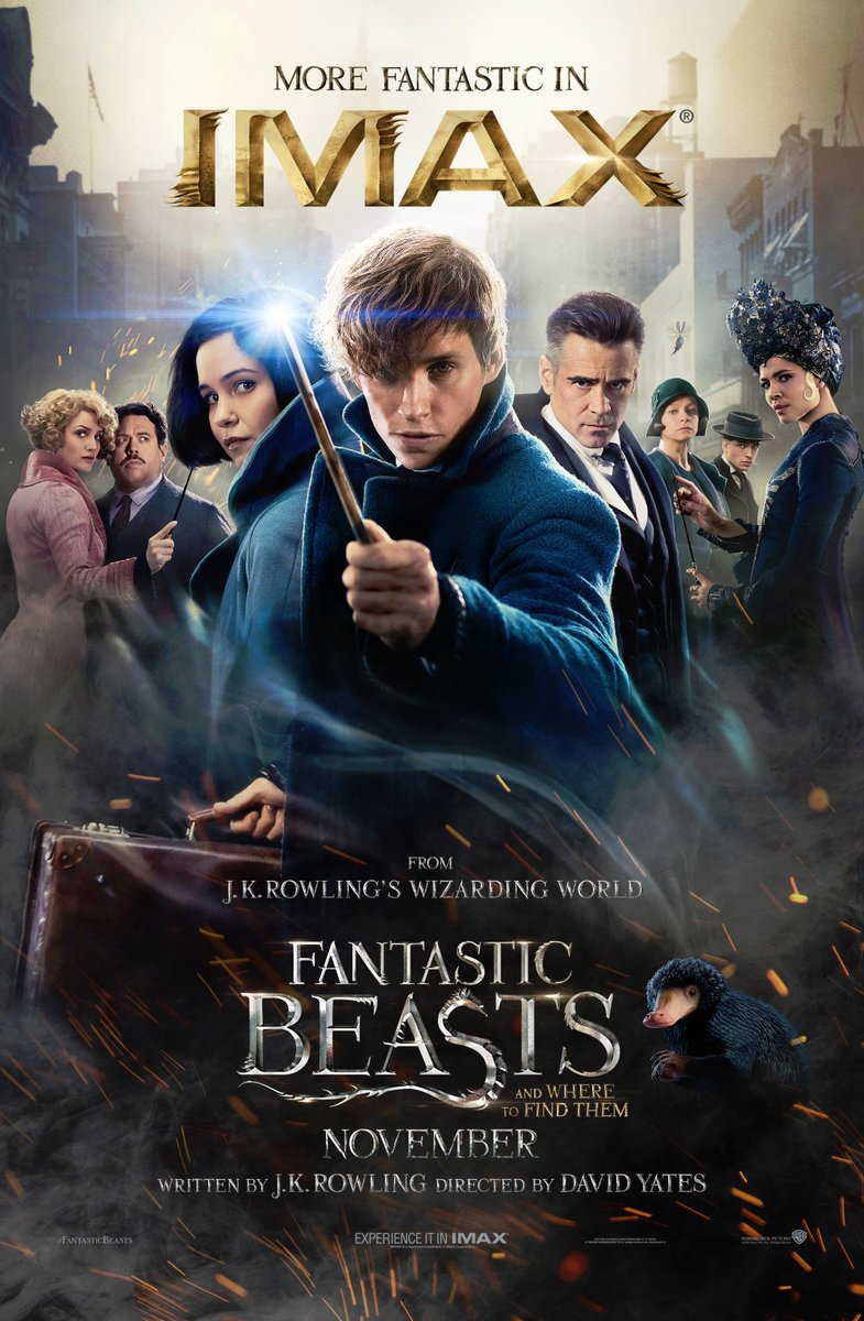 Fantastic Beasts and Where to Find Them IMAX Poster Revealed 3