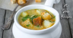When the weather starts to dip, I love to bring out the soup recipes http