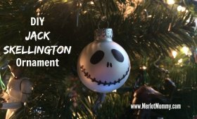DIY Jack Skellington Ornaments JackSkellington diy