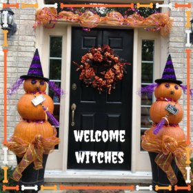 Double, double toil & trouble;Fire burn, & cauldron bubble.Witches Decorating DIY s