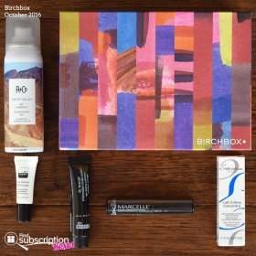 October 2016 Birchbox Review + Free Gift Coupon Birchbox beauty skincare haircare