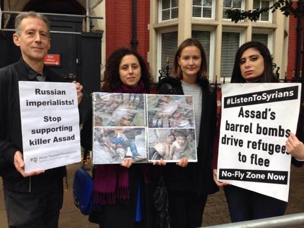 Image result for tatchell syria