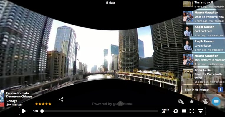 Georama's Live Virtual Reality Platform Lets You Explore The World From YourSofa  #vr