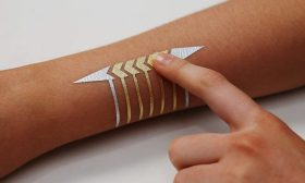 MIT Created A Temporary Tattoo That Can Control Your Connected Devices FashionTech Fashion