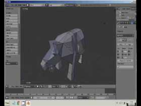 Low Poly bull modelling (blender 3D) lowpoly tutorial