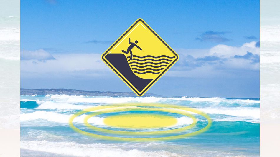 Augmented reality to help beachgoers spot rips, rocks and ocean dangers