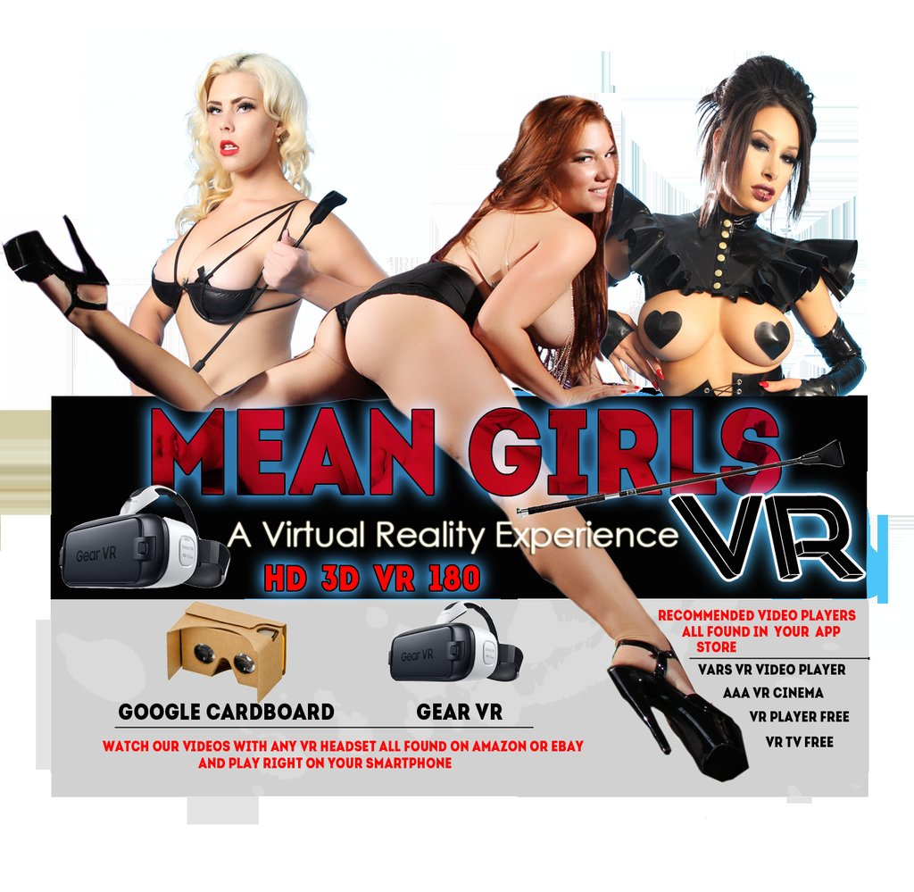Mean girls vr has been booming today ! check it out at  to see why #VR #vrporn #vrfetishporn