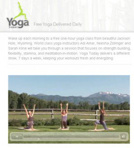 Free Yoga at beauty win giveaway