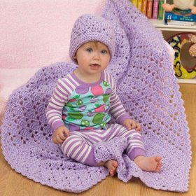 Easy One Ball Baby_Blanket Crochet Baby Blanket Patterns .diy tutorial